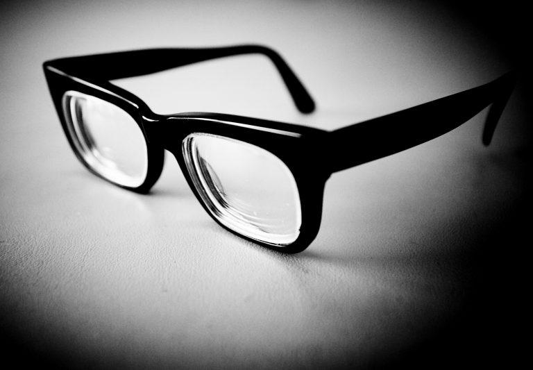 Philip Larkin's glasses