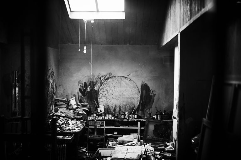 The studio of Francis Bacon from The Hugh Lane