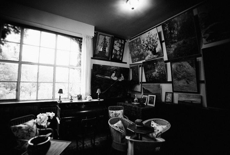 The studio of Claude Monet