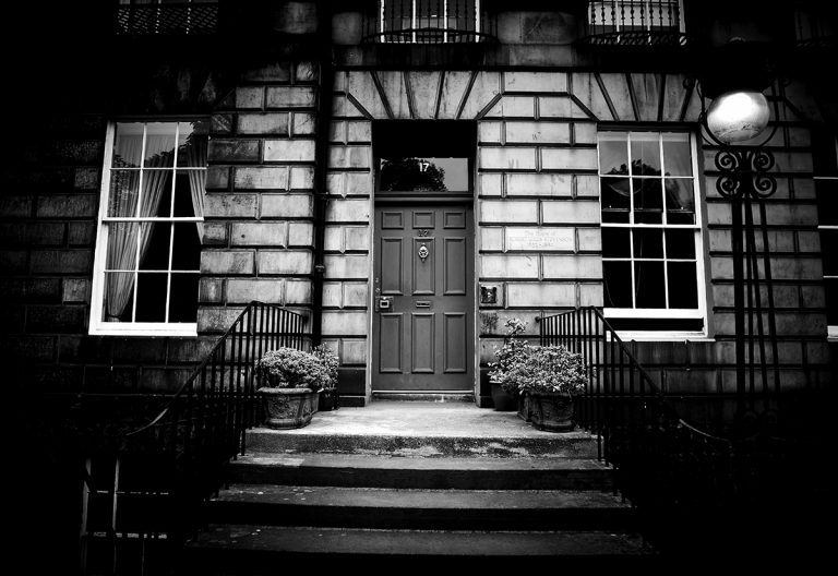 17 Heriot Row, the childhood home of Robert Louis Stevenson