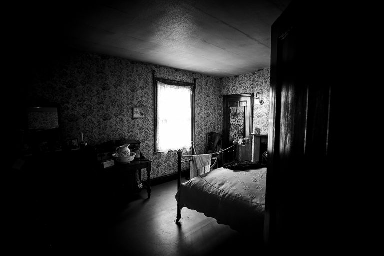 The room in which D.H Lawrence was born