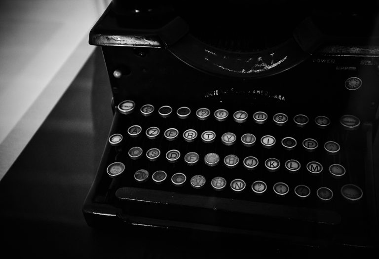 Fernando Pessoa's typewriter