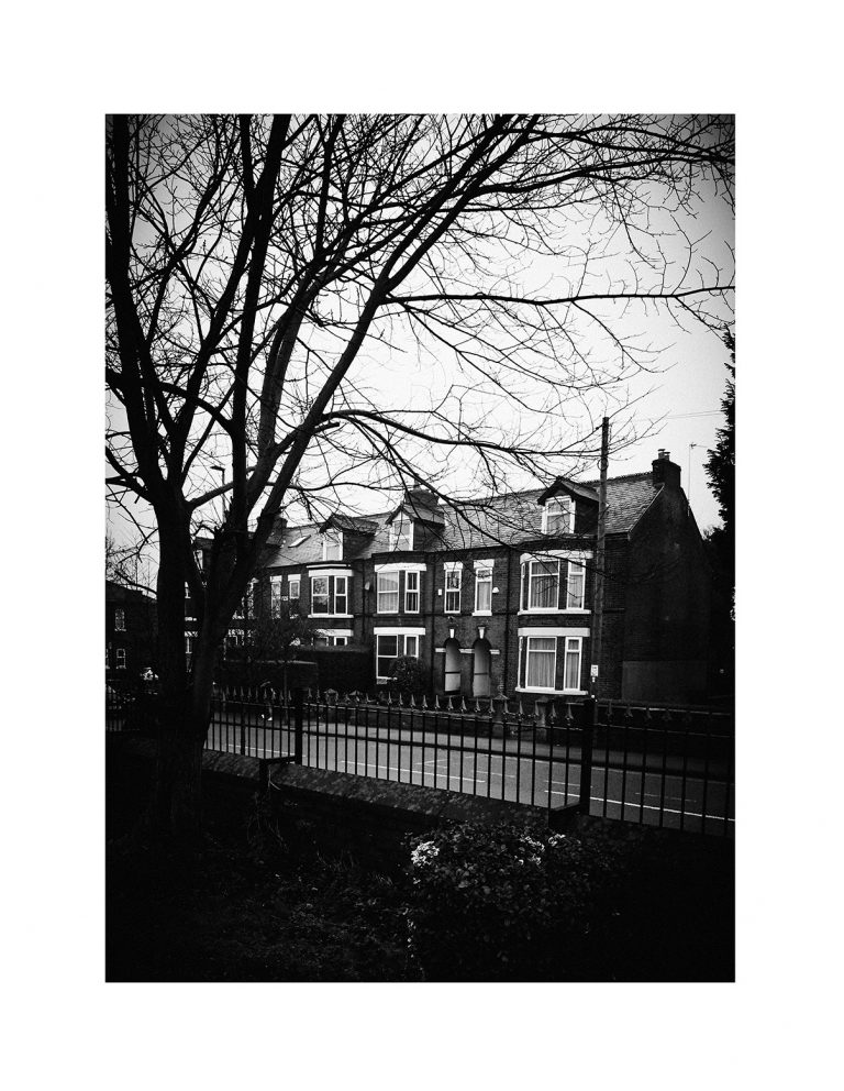 The house in Pendlebury where LS Lowry lived from 1908 – 1948